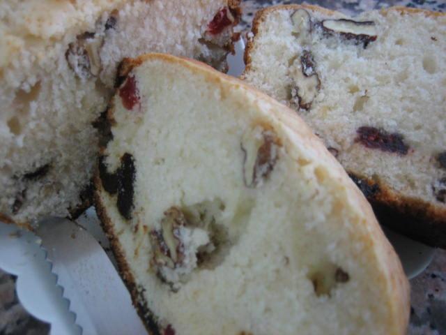 Plumcake de nueces y frutas desidratadas