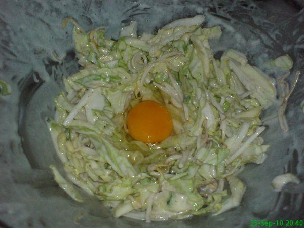 Paso 2: Receta de okonomiyaki