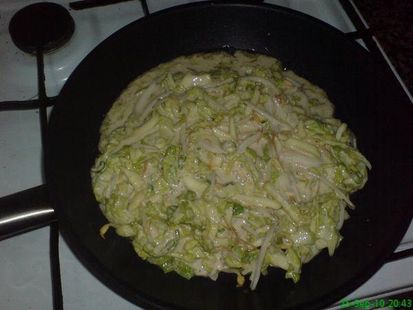 Paso 3: Receta de okonomiyaki